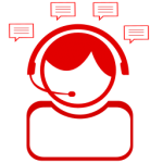 icon of customers support