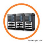 icon of data center