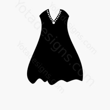 icons of women's dresses
